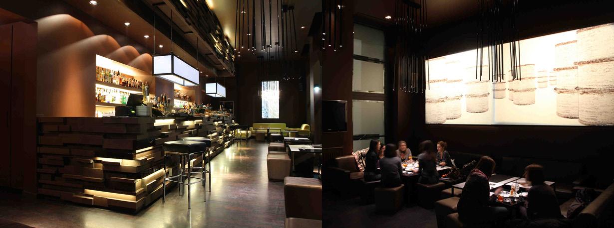 Ricci milano lounge bar restaurant for Ricci arredamenti milano