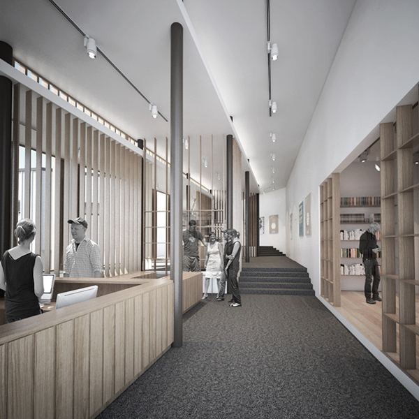 LINKING RHYTHM - Extension between the Alvar Aalto Museum and the Museum of Central Finland